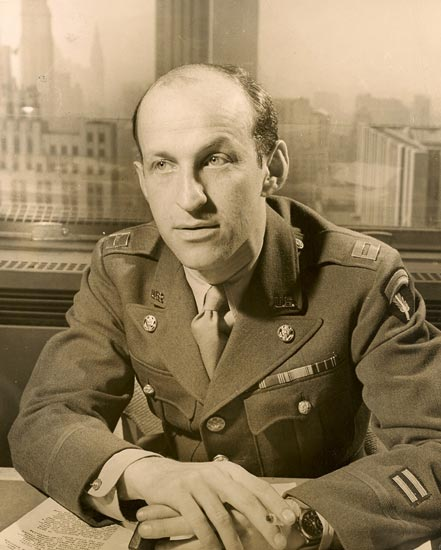 Army Photo of Garson Kanin