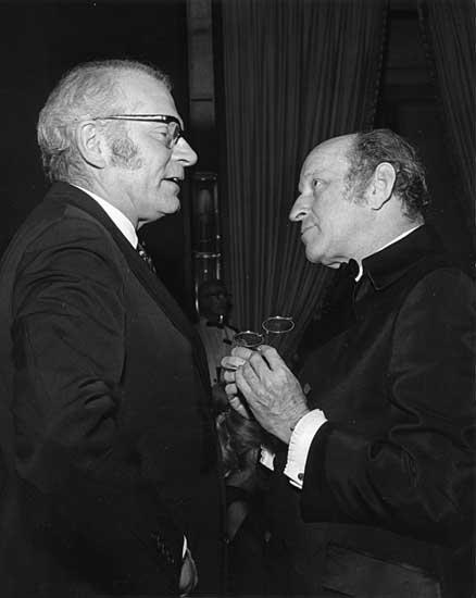 Garson Kanin & Laurence Olivier