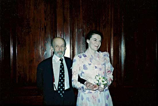Garson Kanin & Marian Seldes - 1990