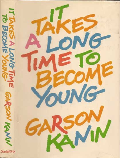 It Takes a Long Time to Become Young Cover